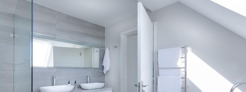 Motywy morskie w łazience